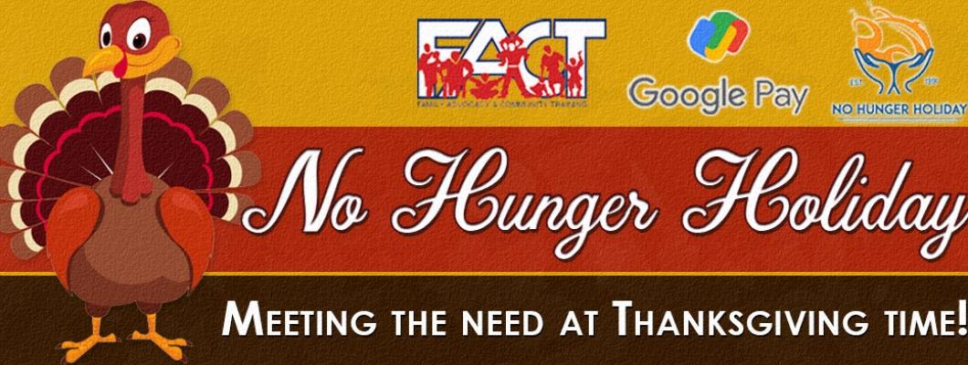 No Hunger Holiday 2021
