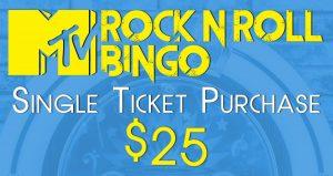 Rock N Roll single ticket
